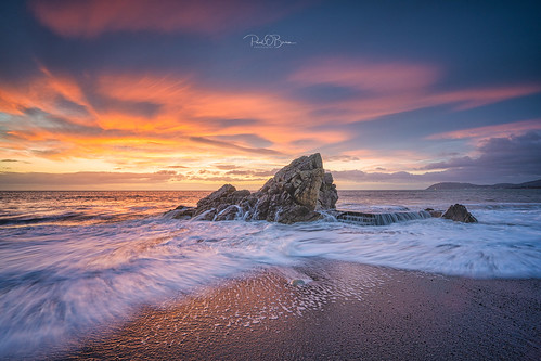 whiterock beach dawn sunrise ireland offshoot paulobrien water sand killiney dublin