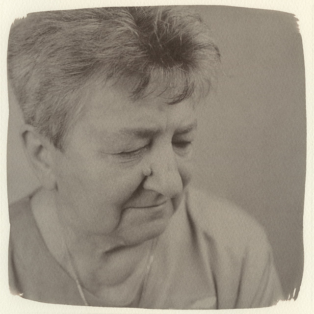 My mother 07. (Kallitype)