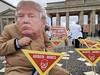 Protestaktion gegen die Aufhebung des Landminenverbotes durch die USA