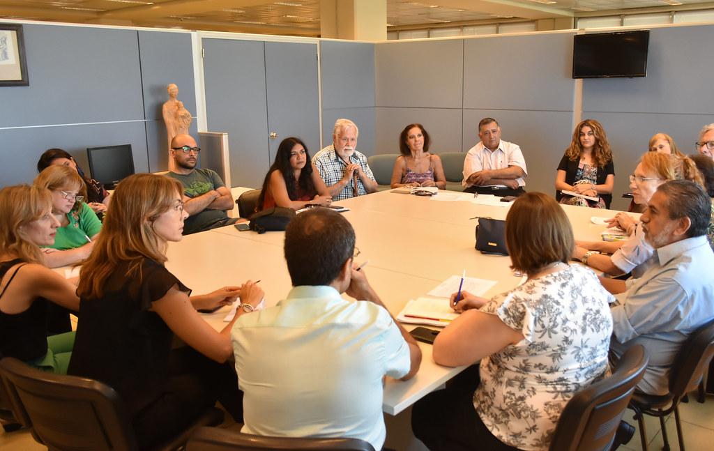 2020-02-17 GOBIERNO: Reunión con Organismos de Derechos Humanos