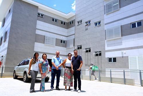 Visita técnica para verificar as condições de acessibilidade no Centro de Saúde Cabana - Comissão de Direitos Humanos e Defesa do Consumidor