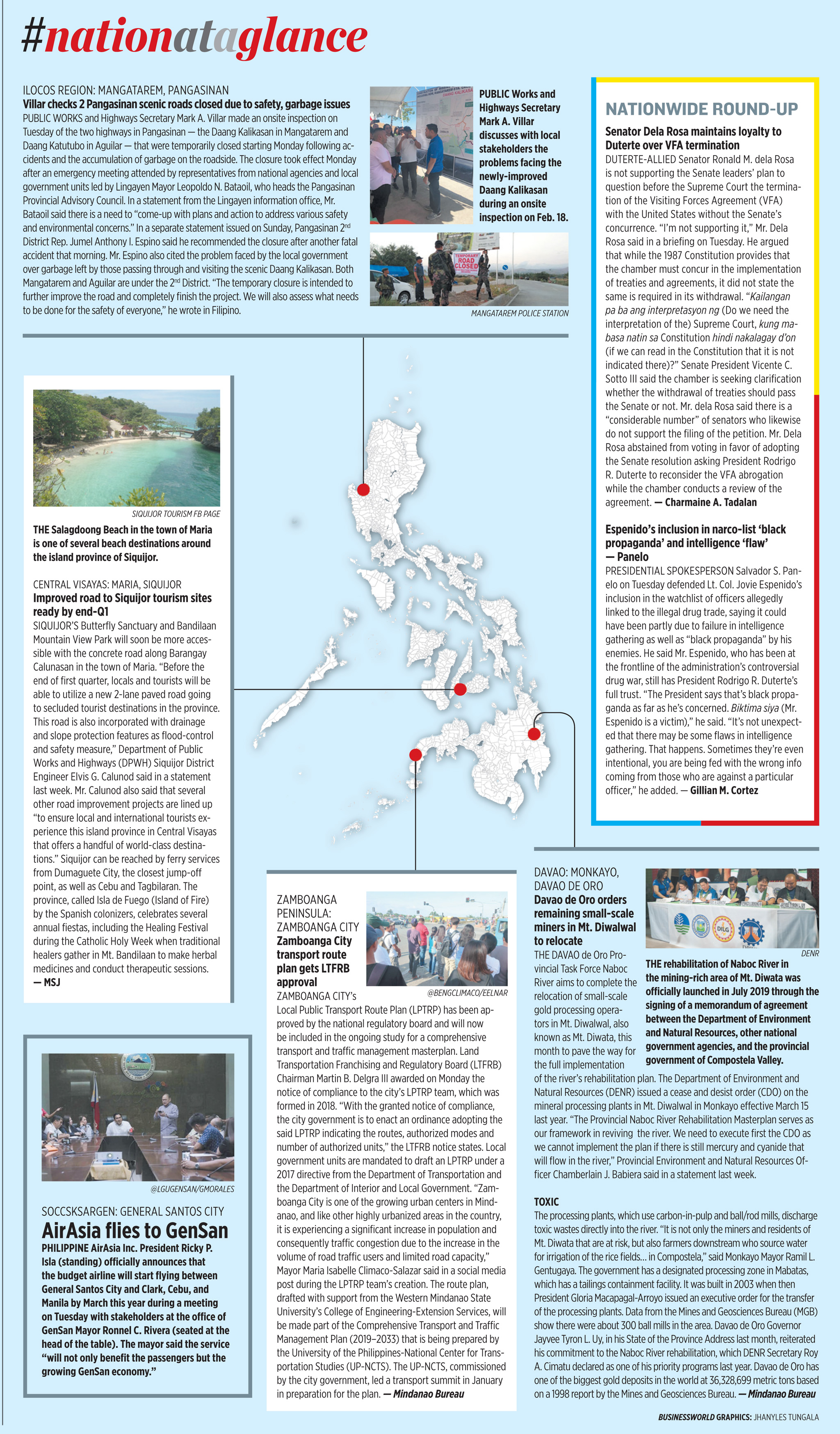 Nation at a Glance — (02/19/20)