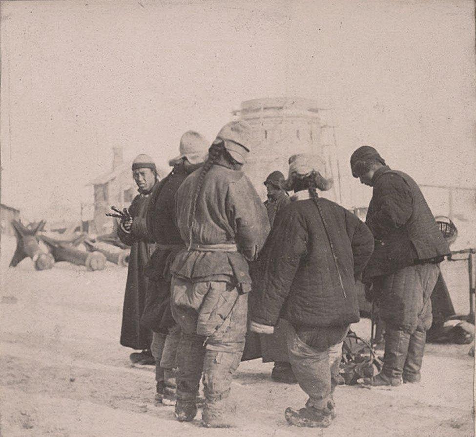 Рабочие. 1901