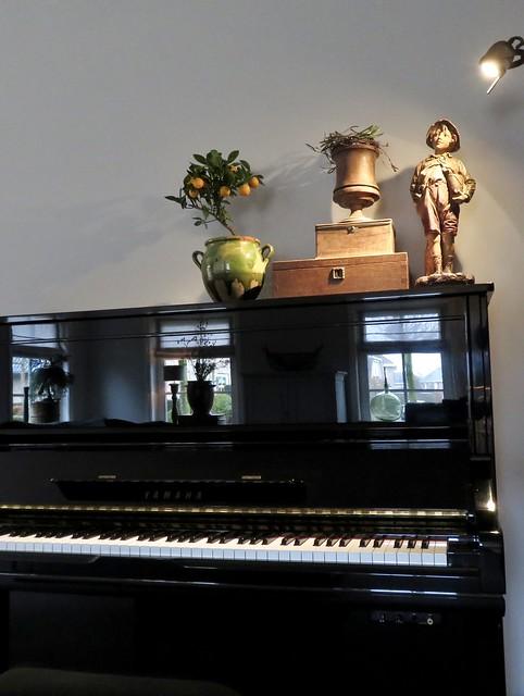 Piano styling ideeën landelijke stijl