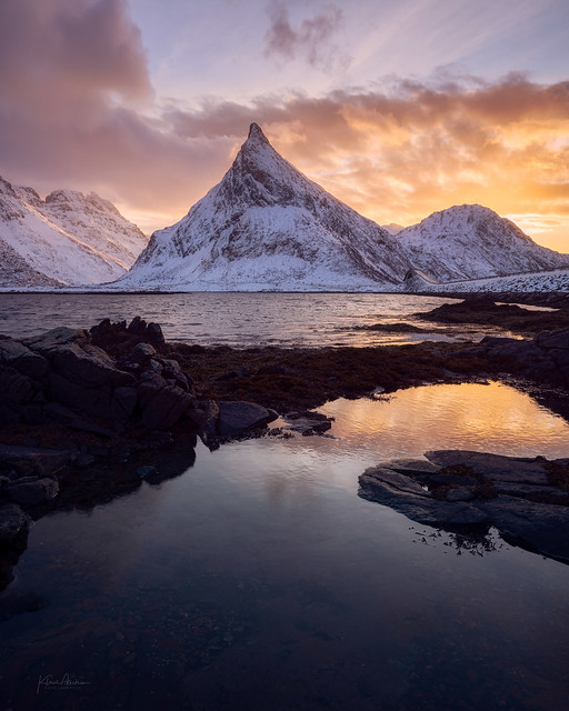 «The lights of Lofoten»