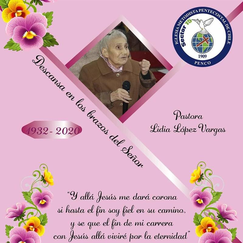 Pastora Lidia López Vargas