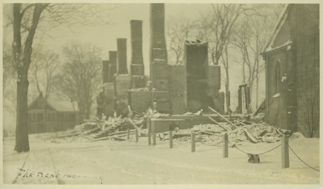 The Fire at Windsor - Feb. 5, 1920