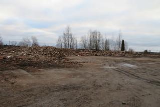 Siin asus Kiviõli kaevanduse peahoone / Kiviõli oil shale mine, Estonia