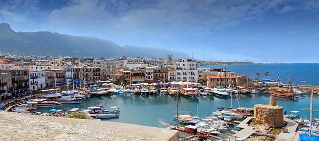Girne Limanı Panorama(Kyrenia Harbor Panorama)
