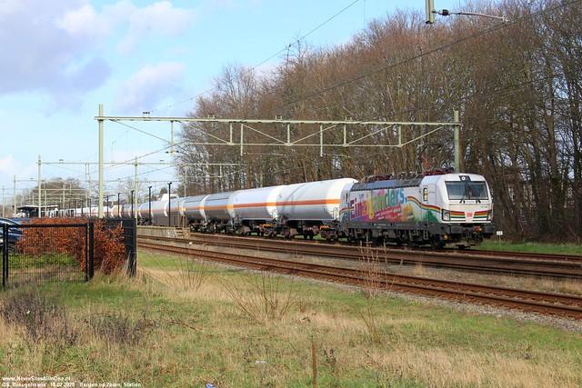 DBC 193 366 'I am Einziganders' - Bergen op Zoom 18-02-2020.