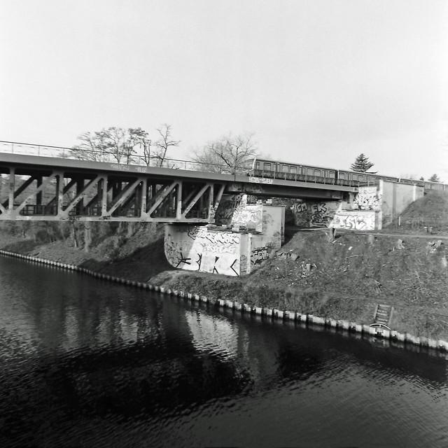 Berlin S-Bahnbrücke Teltowkanal S-2 15.2.2020