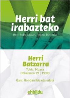 Herri Batzarra Hondarribia, EH Bildu
