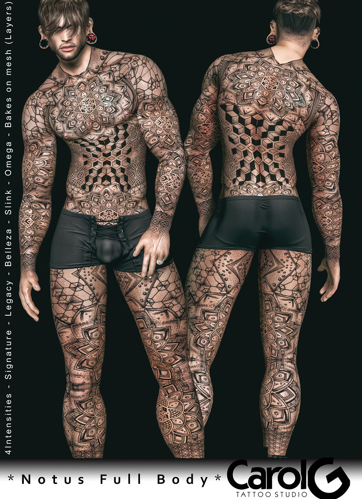 Notus Full Body Male TaTToo [CAROL G]