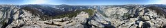 Clouds Rest Panorama - Yosemite