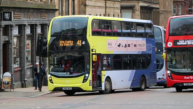 33433 SN66WGD First Glasgow