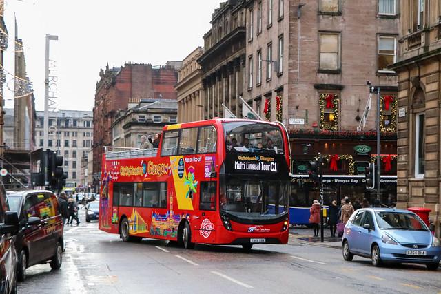 11620 YN66BBX City Sightseeing Glasgow