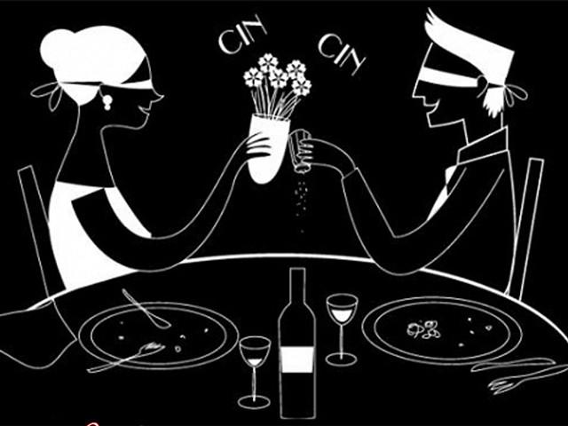 cena al buio leo club cassano