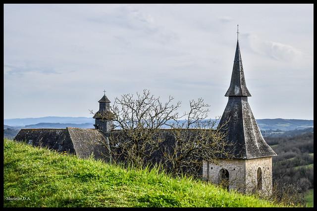 Les clochers de la collégiale Notre-Dame Saint-Pantaléon.