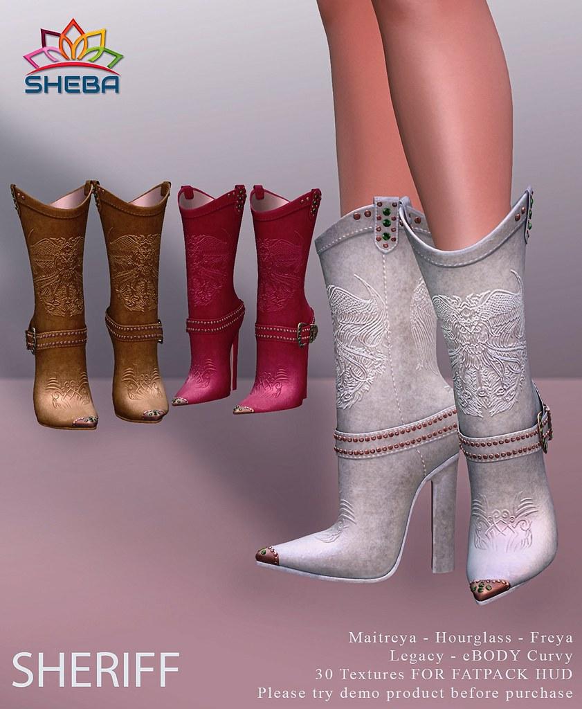 [Sheba] Sheriff boots @Sense Event
