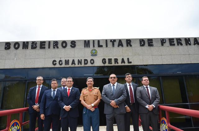 Visita ao Batalhão do Corpo de Bombeiros