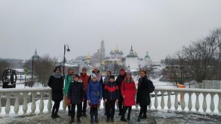 16.02.2020 | Детский хор на Патриаршей службе в Москве