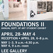 2017 Spring Foundations Exhibition