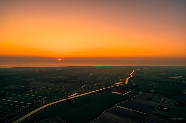 The orange veins of Holland.