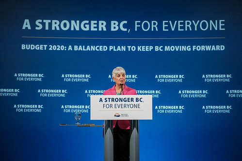BC Budget 2020 | by BC Gov Photos