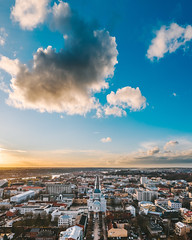 Clouds | Kaunas aerial #48/365
