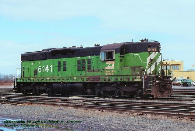 BN 6141, Superior, WI. 4-18-1999