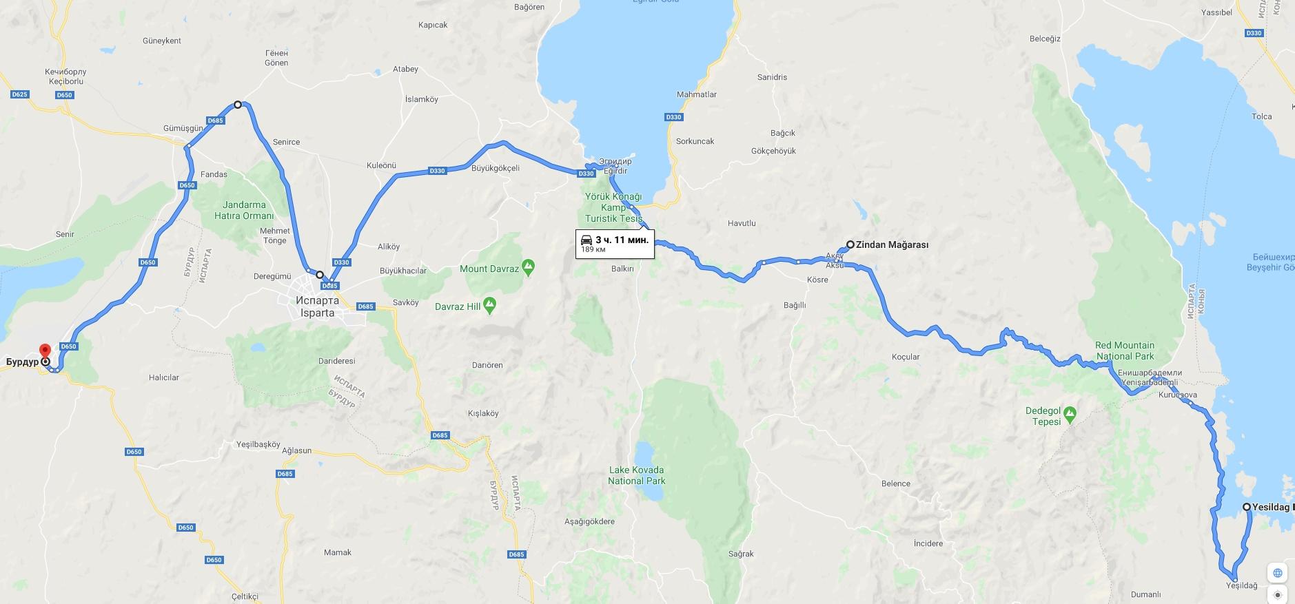 Часть 5. Бурдур, Кибира, Датча, Галлиполи