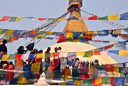 Nepal- Katmandu- Boudhanath stupa