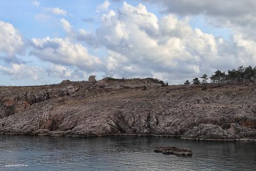 history ruins remains mansion view landscape stone rocks krk heritage