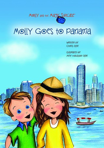 Molly Goe to Panama is the 13th book in our Molly and the Magic Suitcase series. Illustration by Amy Houston Oler, pencil, watercolor, and digital. | by Chris Oler