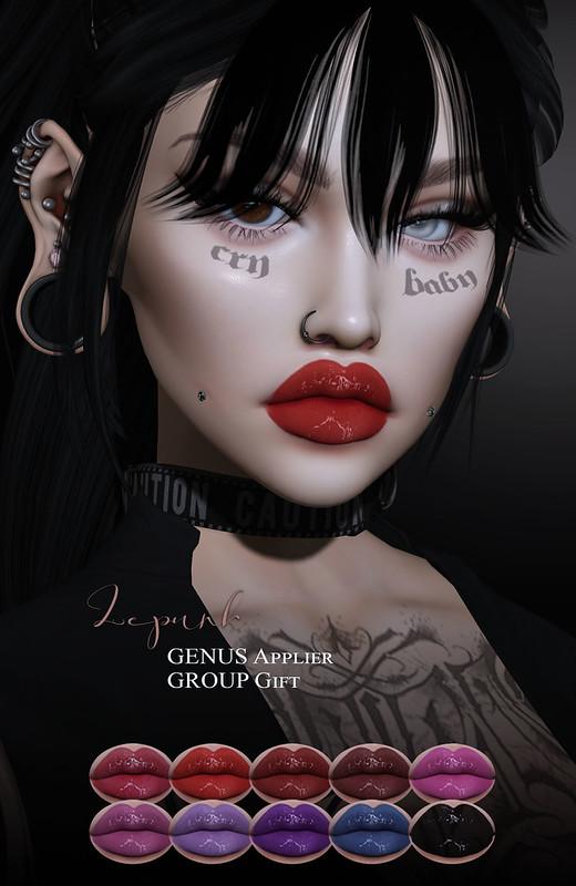 -Lepunk- Irina Lipstick +GENUS HQ+ Group Gift