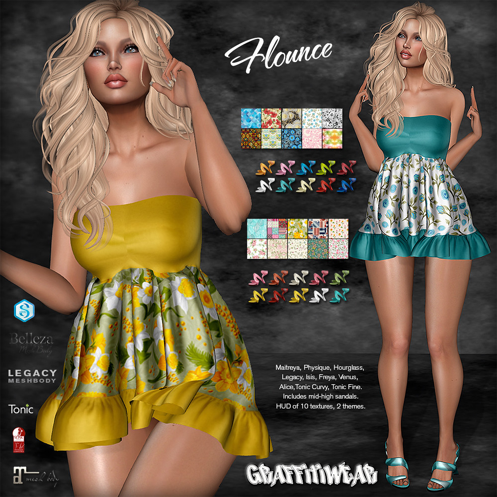 Flounce Outfit Ad