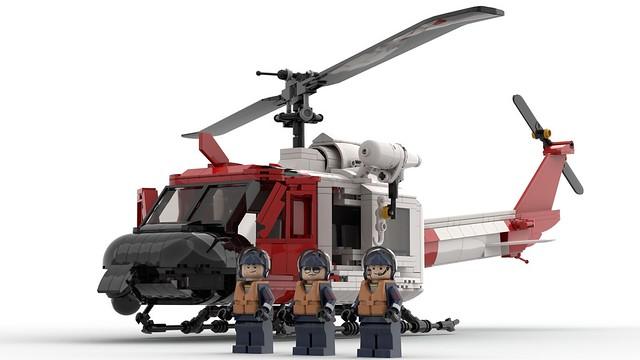 Bell 205 USCG Edition.