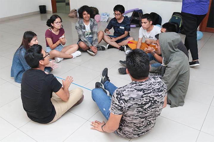 Carrera de Educación Inicial de USIL ofreció taller de improvisación