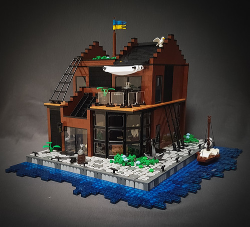 Maritime Museum MOC. Front. | by betweenbrickwalls