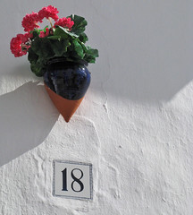 Number 18 (with geraniums) in Spain