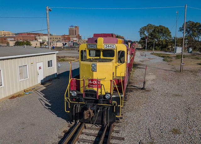 Arkansas-Oklahoma Railroad AOK 2442 (GP30) McAlester, Oklahoma