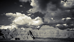 Badlands Monochrome