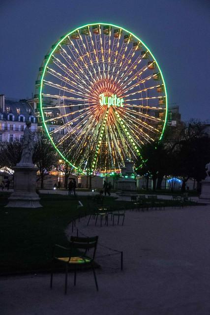 Paris, jardin des Tuileries, 12