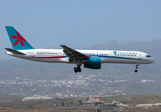 G-OOBE Boeing 757 First Choice