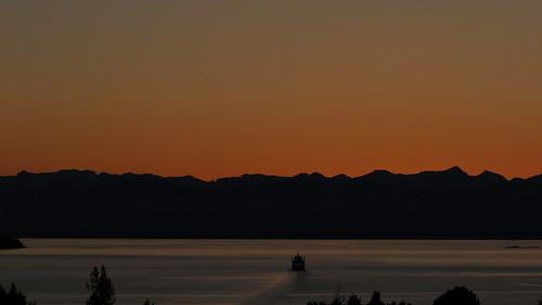 dusk vancouverisland skyline sunset powellriver bc britishcolumbia
