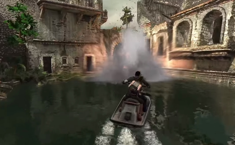 Uncharted Drake's Fortune - Jet Ski