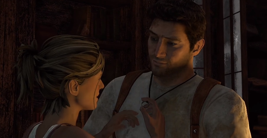 Uncharted Drake's Fortune - Elena and Nate