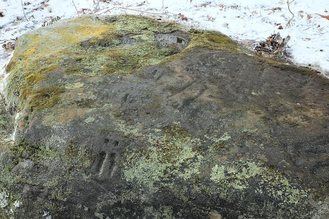 Prehistoric Petroglyphs, Parva Petroglyph Rock, Fayette County, Pennsylvania 5