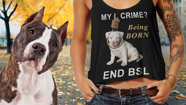 My Crime? Being Born. End BSL.