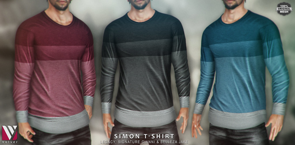 Volvér – Simon T-Shirt @ Mancave